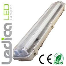 Led röhrenlampe 2x T8 150cm