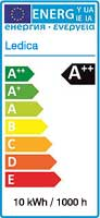 Ledica Energie-Aufkleber
